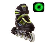Коньки роликовые/раздвижные Atom Green