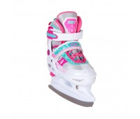 Коньки ледовые/раздвижные Fresco Pink