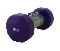 Гантели виниловая Atemi AD053 3 кг