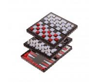 Набор игр 3 в 1 8813 (магнитные) 12*6см