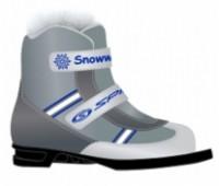 Ботинки лыжные 75 мм SPINE Kids Velcro 104