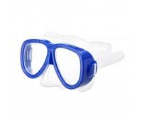 Маска для плавания М-1024 ПВХ (синий)