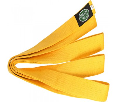 Пояс для карате 2.6м-желтый